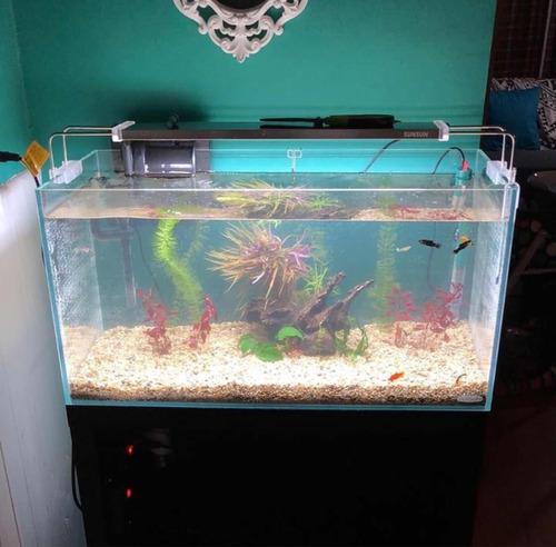 acuario con mueble
