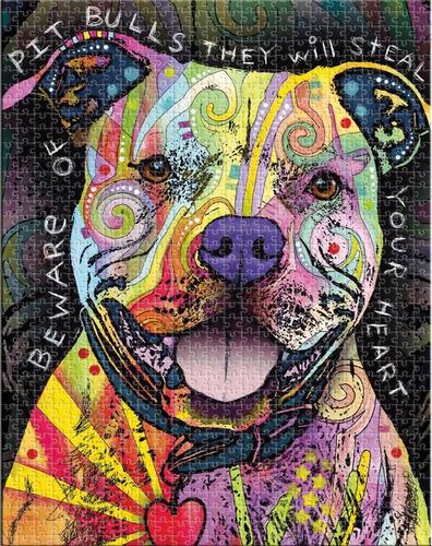 acuario dean russo cuidado con pit bull como jigsaw puzzle (
