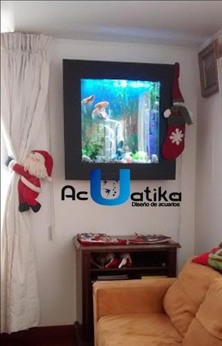 acuario plasmas de pared para colgar o empotrar