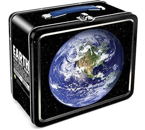 acuario smithsonian tierra lata caja de lata de estaño gr