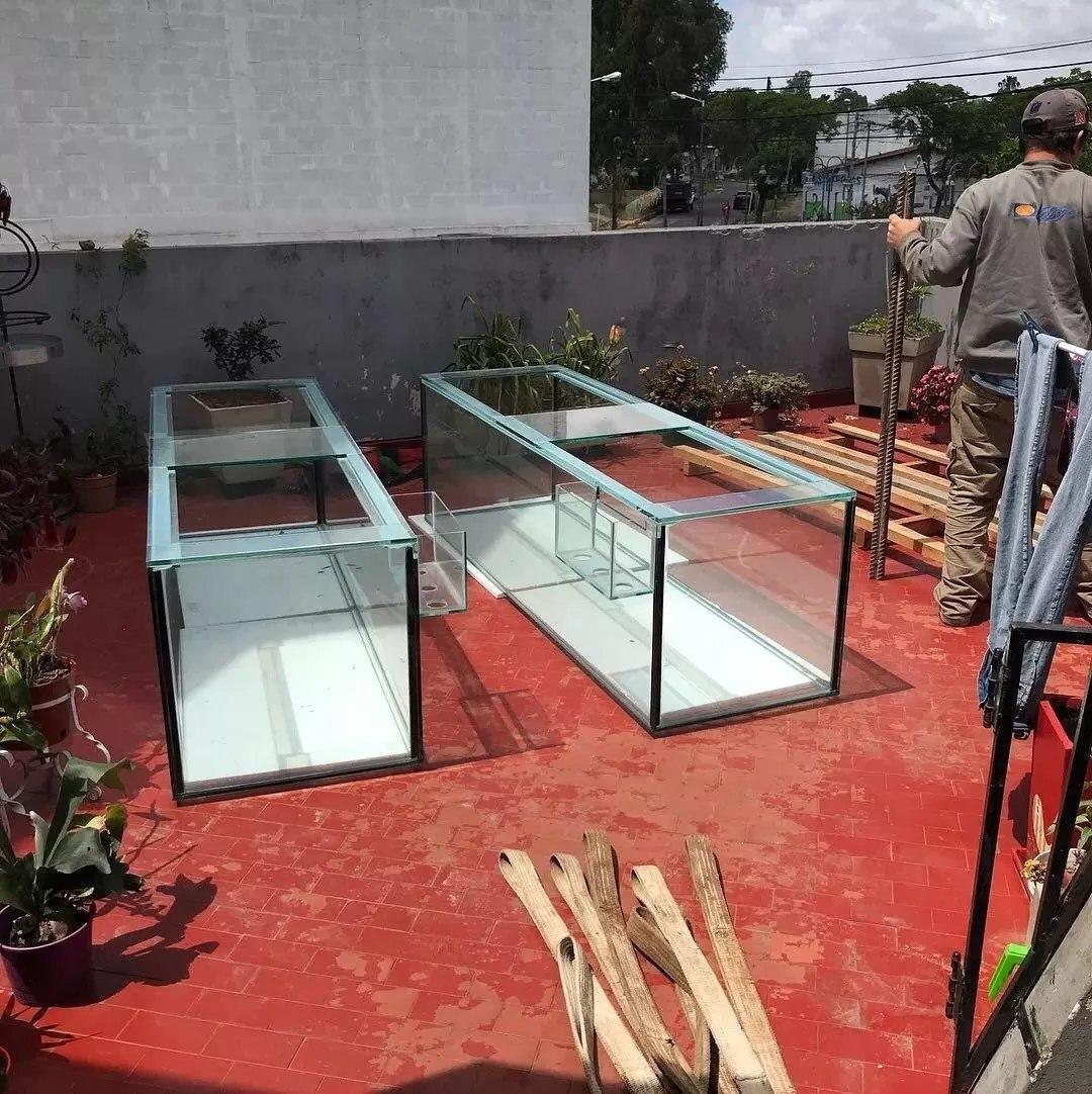 acuarios peceras grandes a medida mainar sump estructuras - Peceras Grandes
