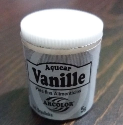 acucar de baunilha vanille sugar arcolor 5 gramas