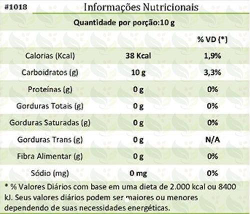 açúcar de coco low carb 2 kg - pct 1kg x 2und = 2kg promoção