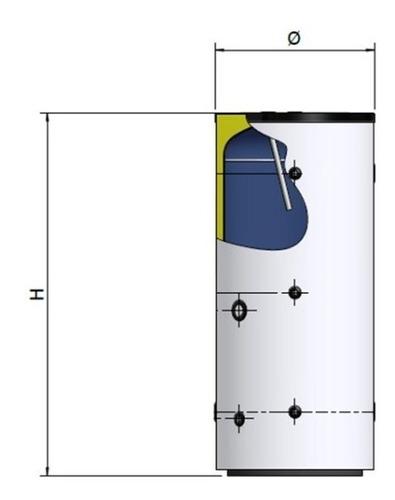 acumulador agua caliente 300 lts. longvie