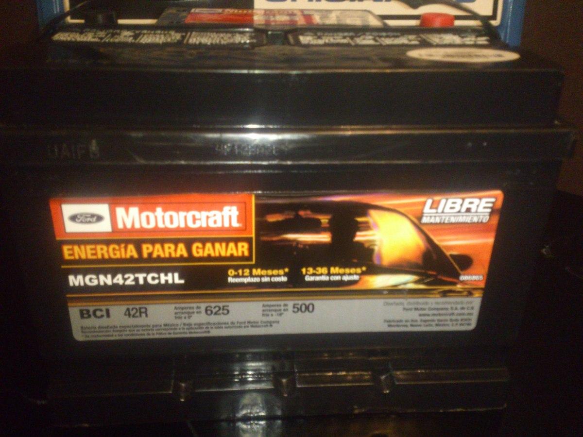 Ford Escape Se >> Acumulador Motorcraft Bci 42 R, Para Ford, Gm, Chrysler ...