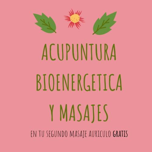 acupuntura bioenergetica y masajes