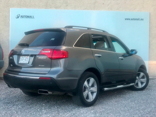 acura mdx 3.7 at 2010 gris obscuro