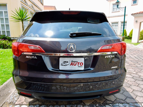 acura rdx 3.5 v6 turbo 4x4 at 2013 unico dueño, tomo auto