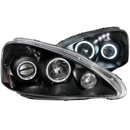 acura rsx 05-06 projector h.l halo black(ccfl)