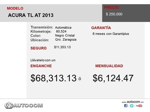 acura tl acura tl at 2013 seminuevos