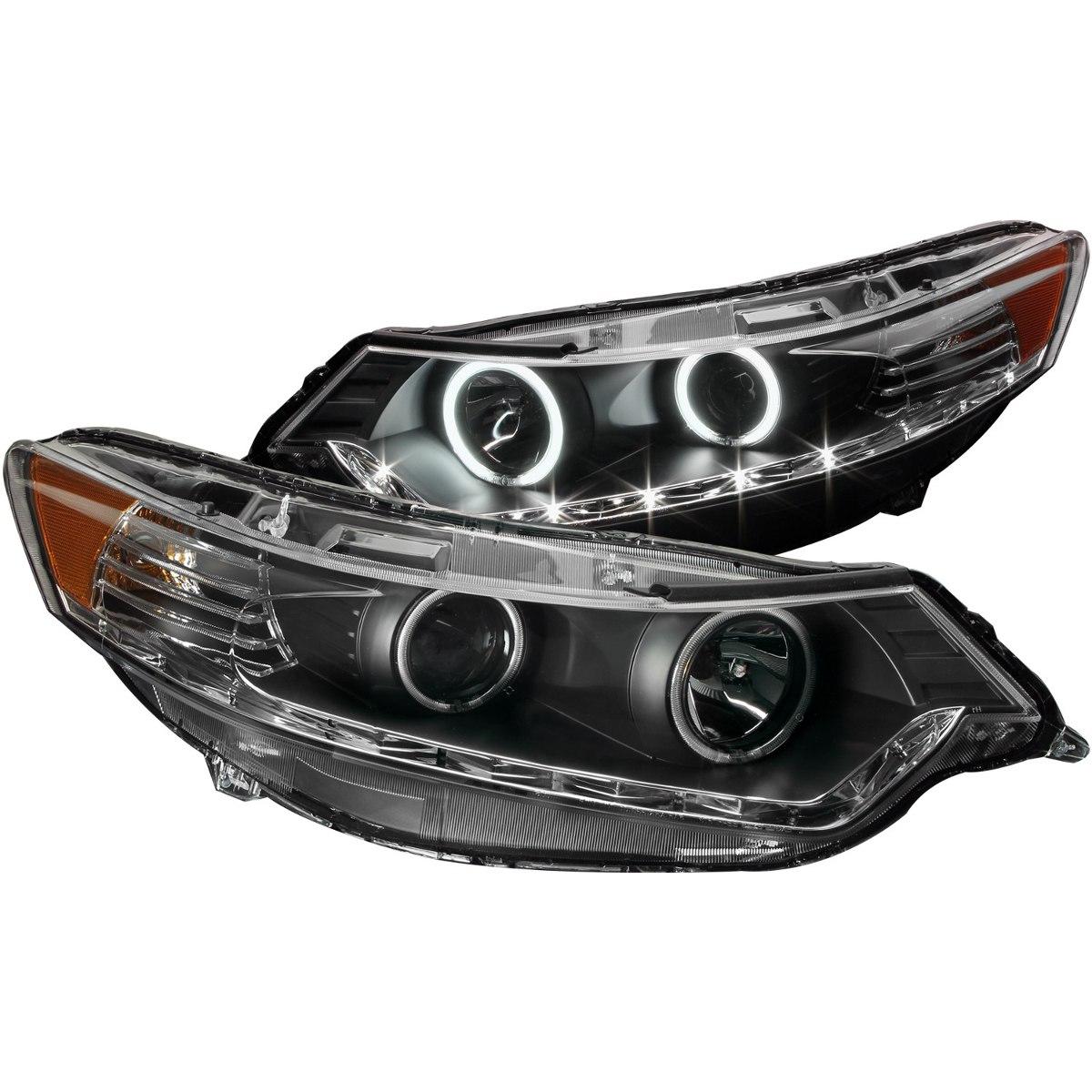 Acura Tsx 09-10 Projector Halo Black(ccfl)hid