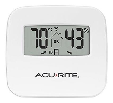 acurite 06044m temperatura inalámbrico y el sensor monitor