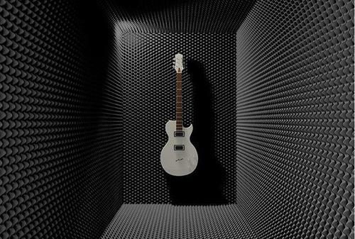 acústica grabacion espuma