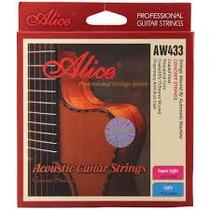 Vendo Cuerdas De Acero Para Guitarra Clasica Alice Aw433