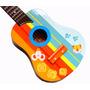 Guitarra De Madera Con Gatitos Y Ratones Para Niños