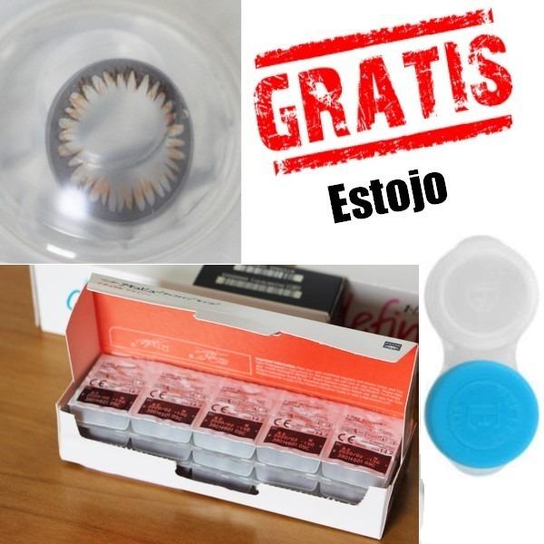 Acuvue Define Efeito Shinne 30 Lentes Johnson +estojo Gratis - R ... f585addccf