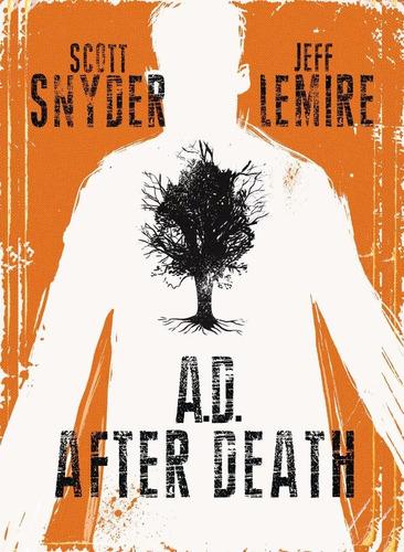 ad: after death - image comics - robot negro