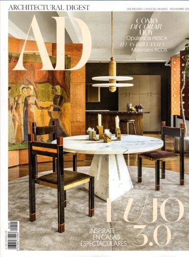 ad architectural digest es - assinatura 6 revistas mensais