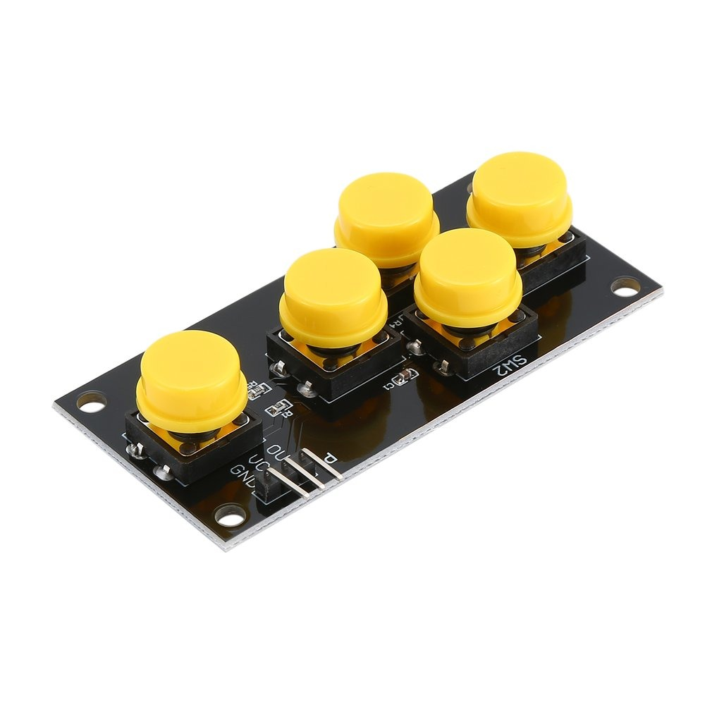 Ad Teclado Analógico Botón Cinco Clave Módulo Para Arduino S