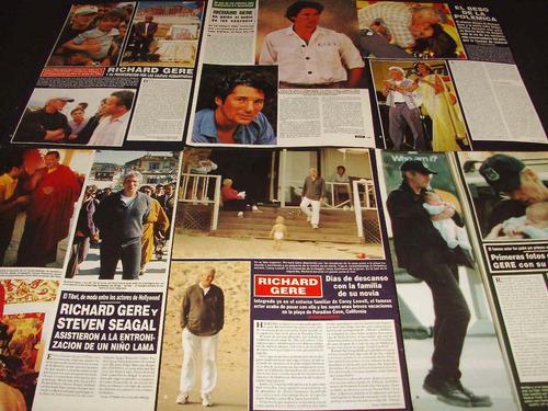 (ad037) richard gere * recortes revistas clippings