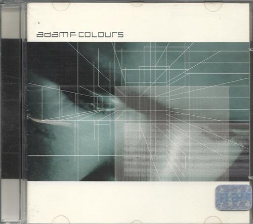 adam f colours 1997 electronic cd(ex/ex)(br)nacional**