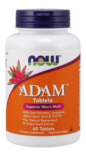 adam now foods 60 cap importado - multivitaminico 1 cap /dia