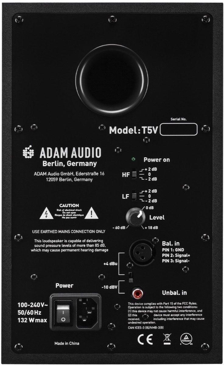 Monitor de estudio activo Adam T5V