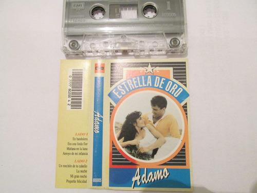 adamo - estrella de oro (cassette original)