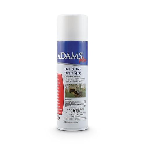adams plus pulgas y garrapatas spray de alfombras