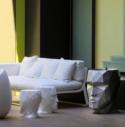 adan 100 grand  by vondom macetero portalapis decoracion cabeza design galletero dulcero mesa boda oficina casa jardin