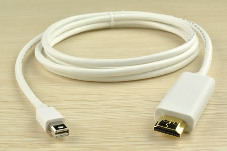 adap thunderbolt/mini display port a hdmi macho-macho 1.8mts