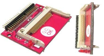 adapt 2 slot compact flash cf a ide 44 pines conexion c/cabl