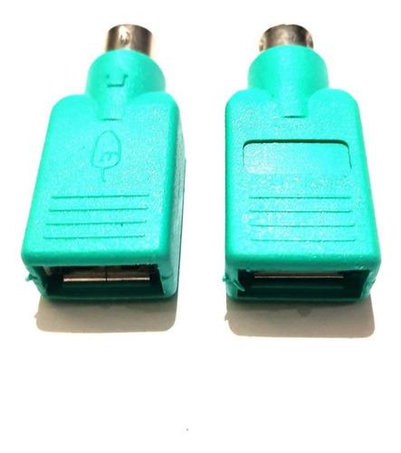 adapt. p/ mause e teclado ps2 m x usb femea15 kits c/2peças