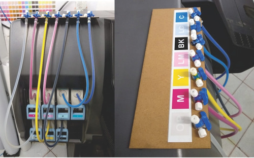 adaptação cartuchos de impressão para ploter