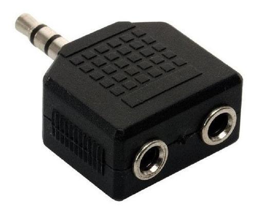 adaptador 2 auriculares a una salida de mini plug estéreo