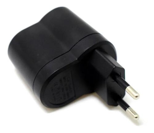 adaptador 220v a 12v boca encendedor auto 1 amper + usb