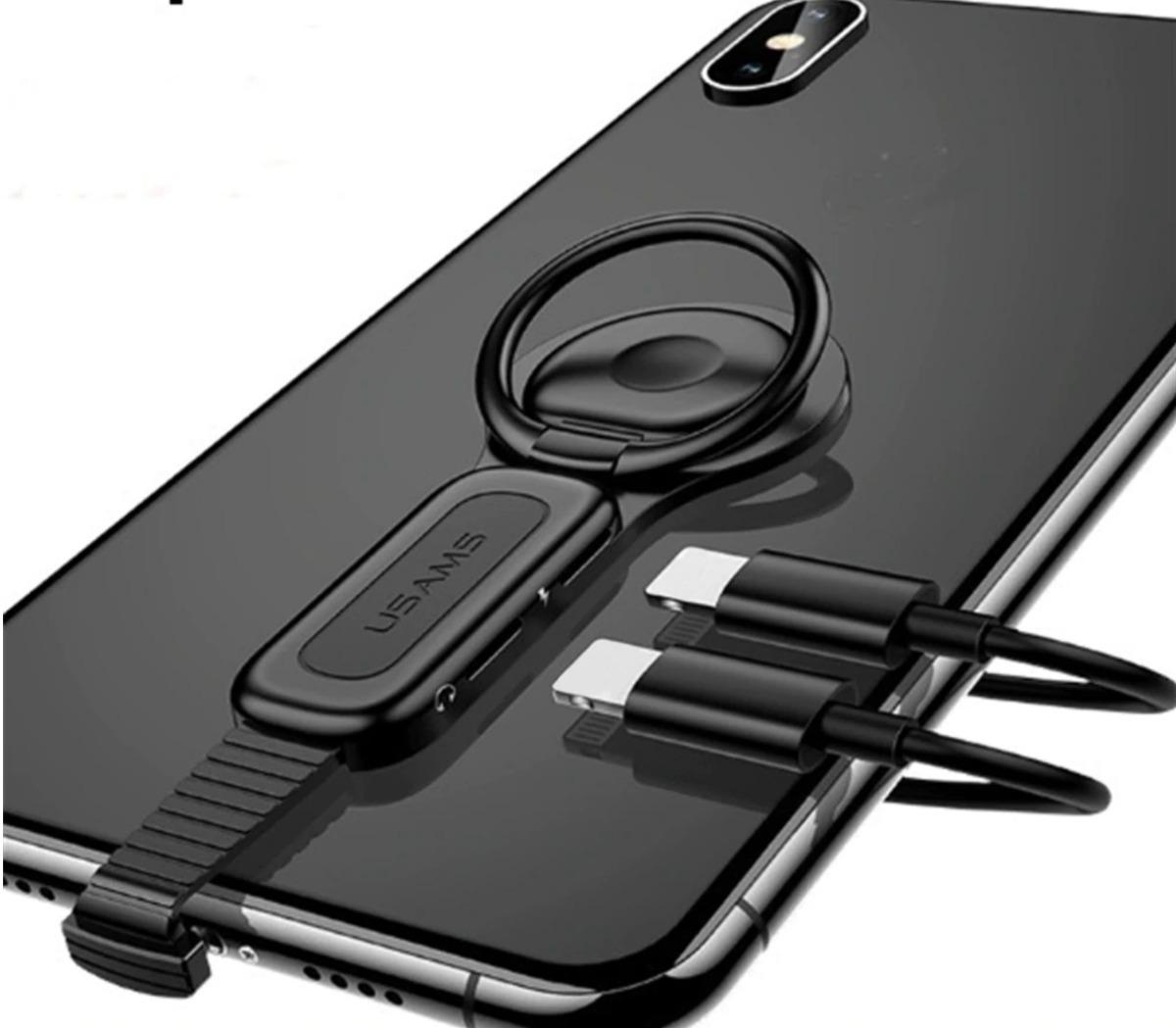2dc6d26ce0c adaptador 4 em 1 lightning ou p2 anel magnetico usams iphone. Carregando  zoom.