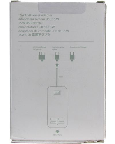 adaptador 4 puertos usb 5v 15w / 4647
