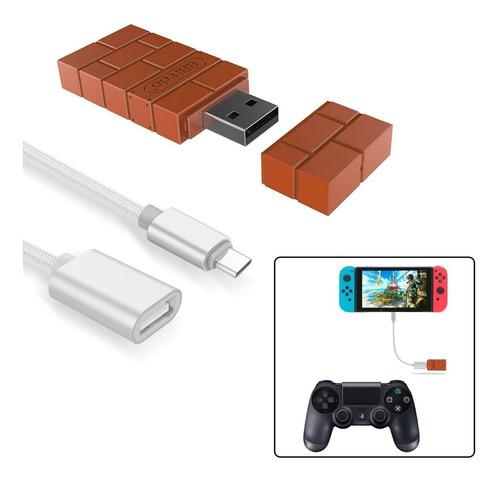 adaptador 8bitdo para switch y pc - mundoplaystation