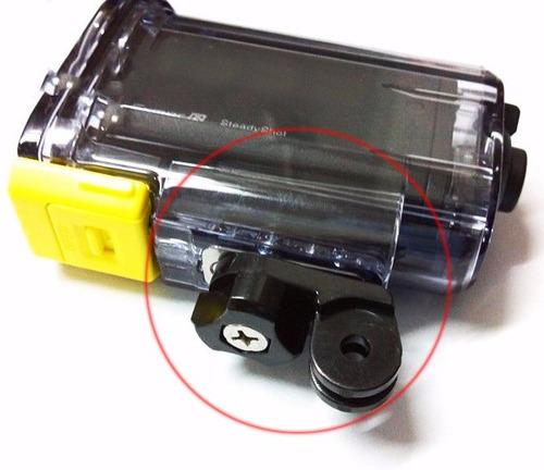 adaptador accesorios monturas gopro a action cam de sony