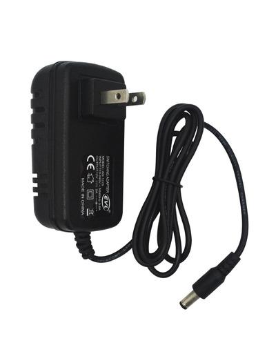 adaptador ac/dc intel. fijo 12v-2a plug 2.5