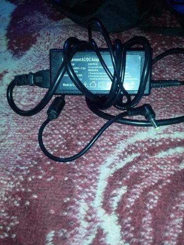 adaptador acer de ca 65w-19v para laptop