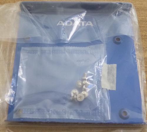 adaptador adata para montar unidades ssd 2.5 a 3.5  bracket