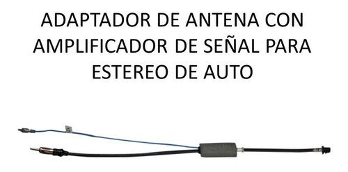 adaptador antena /amplificador auto bmw 2002-adel euro-a108