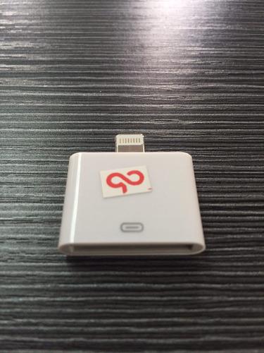 adaptador apple de 30 pines a lighting (iphone 5)