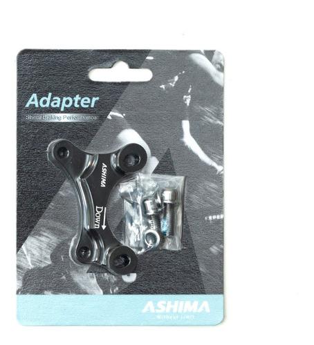 adaptador ashima de pinça is p/ garfo-quadro is 160/180mm
