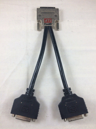 adaptador ati firemv  vhdci a dual dvi np 6111020400g usado