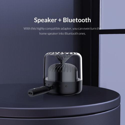 adaptador audio bluetooth 5.0 orico edr 3.5mm