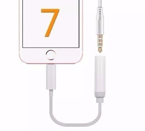 adaptador audio jack 3.5 iphone 7 iphone 8 apple original