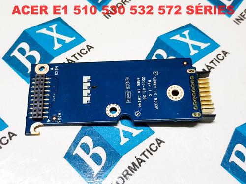 adaptador bateria acer e1 510 530 572 séries ls-9533p